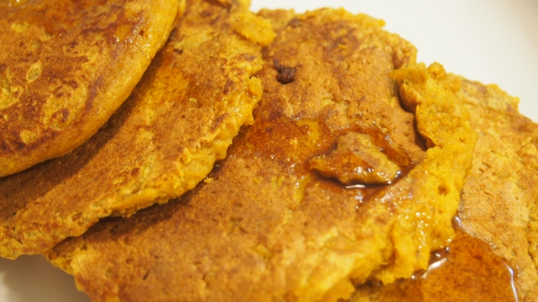 Hearty Pumpkin Pancakes