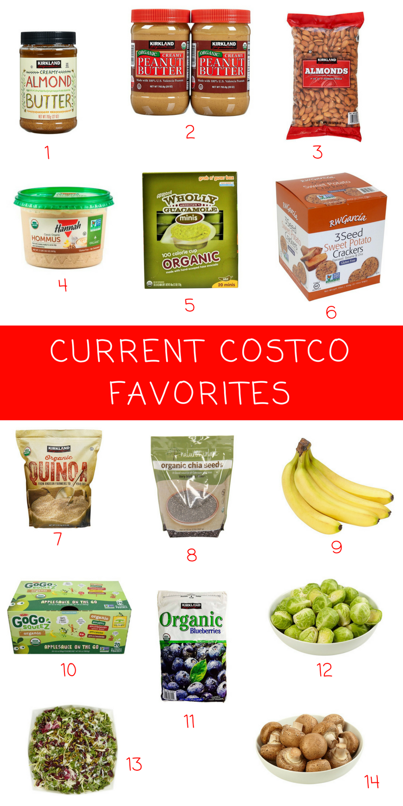 CURRENT COSTCO FAVORITES