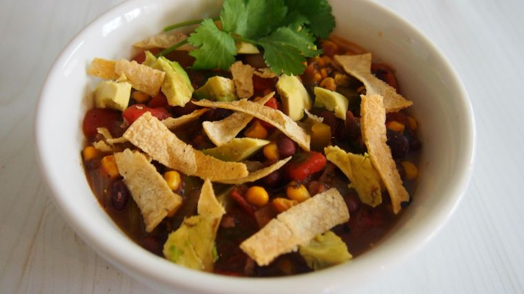 Veggie Tortilla Soup