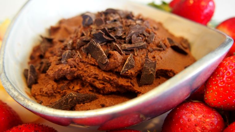 Fudgy Chocolate Hummus